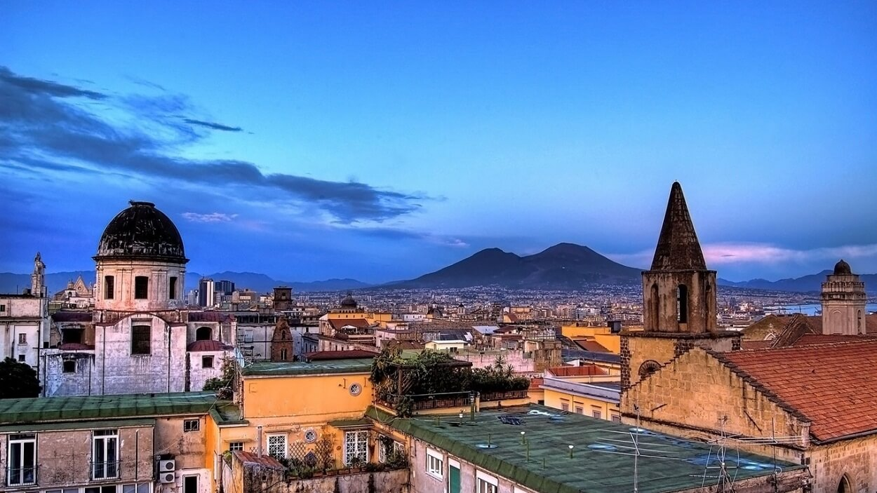 Italy naples buildings roof sky view hd wallpapers for - Naples italy wallpaper ...